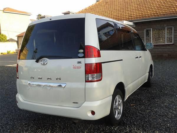 Toyota Noah Rental Nairobi